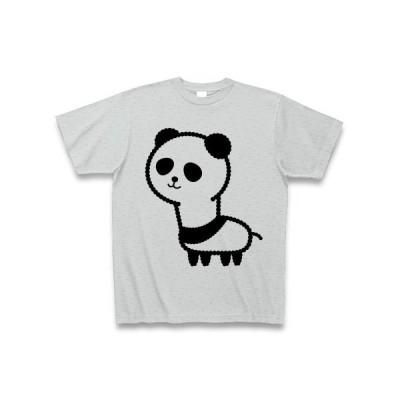 アルパカぱんだ Tシャツ(グレー)