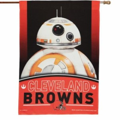 WinCraft ウィンクラフト スポーツ用品  WinCraft Cleveland Browns 28 x 40 Star Wars Single-Sided House Banner