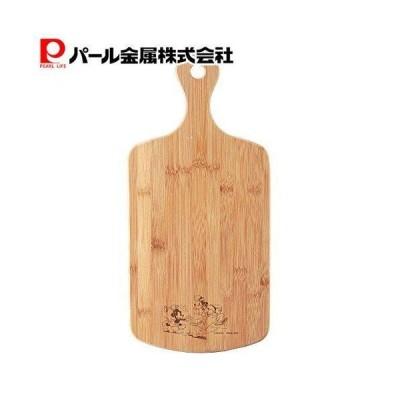 ディズニー 竹製 まな板 取っ手付き カッティングボード Mサイズ ミッキーマウス MA-1627