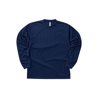 [グリマー] 長袖 4.4オンス ドライ ロングスリーブ Tシャツ [UVカット] ネイビー 日本 6L (-)