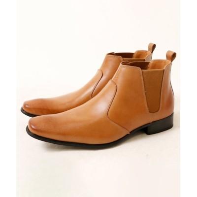 FUNALIVE / 【SARABANDE】本革サイドゴアドレスブーツ チェルシーブーツ MEN シューズ > ブーツ