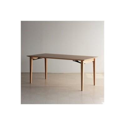 大川市 ふるさと納税 折り畳みダイニングテーブル CONE 160x80x70 大川市 WAプラス