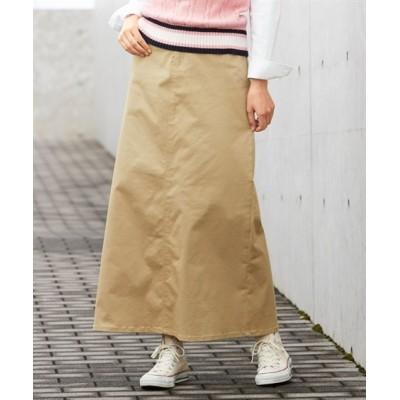 【大きいサイズ】 すごのびストレッチツイルロングスカート(ゆったりヒップ) スカート, plus size skirts