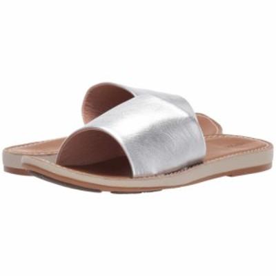 オルカイ OluKai レディース サンダル・ミュール シューズ・靴 Nohie Olu Silver/Tan