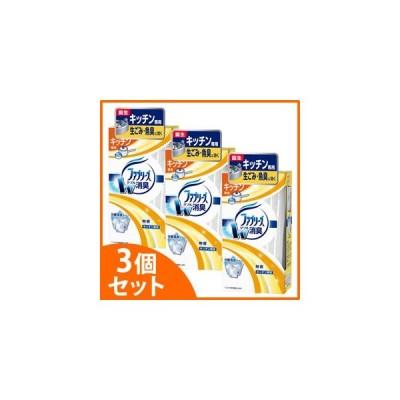 《セット販売》 P&G 置き型ファブリーズ キッチン専用 無香 本体 (130g)×3個セット ファブリーズ 芳香剤 消臭剤 P&G