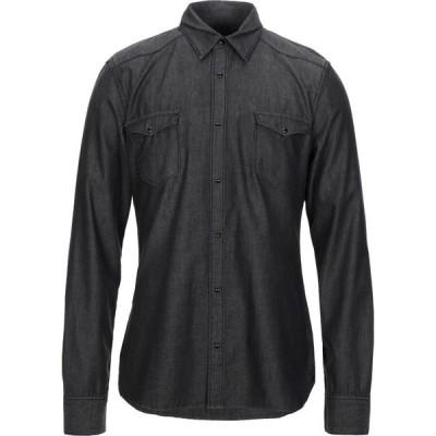 ガウディ GAUDI メンズ シャツ デニム トップス denim shirt Black