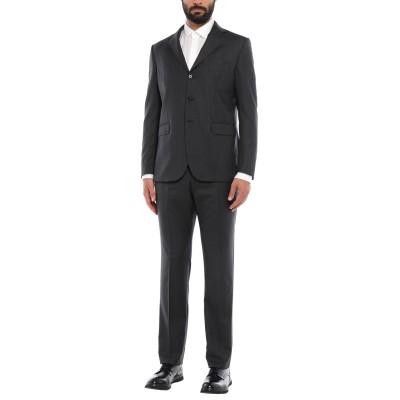アスペジ ASPESI スーツ スチールグレー 54 ウール 100% スーツ