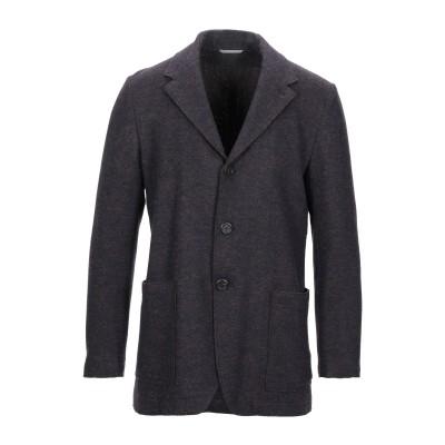 カナーリ CANALI テーラードジャケット ディープパープル 54 ウール 100% テーラードジャケット