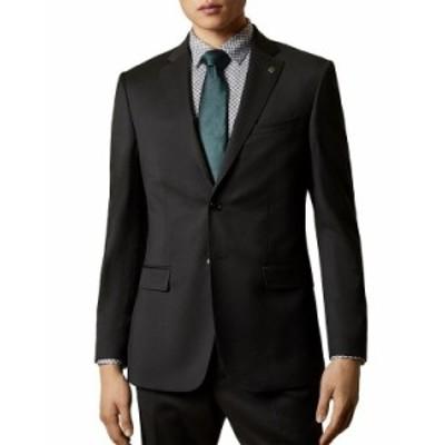 テッドベーカー メンズ ジャケット・ブルゾン アウター Franc Slim Fit Suit Jacket Black