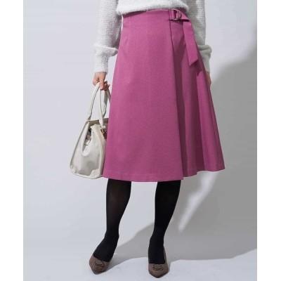 OFUON / ラップフレアスカート WOMEN スカート > スカート