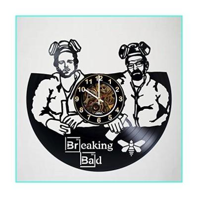 【新品】Iskra Shop Breaking Bad - Handmade Vinyl Clock, Wall Decor, Home Art Decoration, Modern Art, Gift Idea for Man and Woman, Vintage Vinyl Re