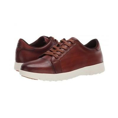 Stacy Adams ステーシーアダムス メンズ 男性用 シューズ 靴 スニーカー 運動靴 Hawkins Cap Toe Sneaker - Cognac