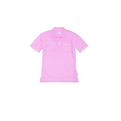 BURTLE バートル 半袖ポロシャツ 春夏用 205 83 ピンク SS