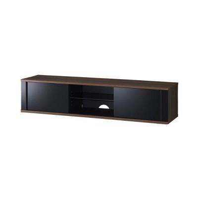 ハヤミ工産 TV-SD1550B[テレビ台薄型]TIMEZ  55v~65v型対応 テレビ台