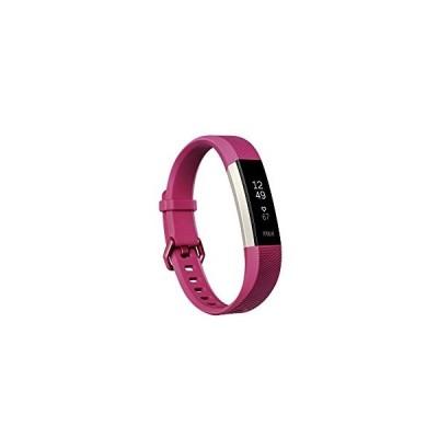 Fitbit Alta HR, Fuchsia, Small (US Version)【並行輸入品】