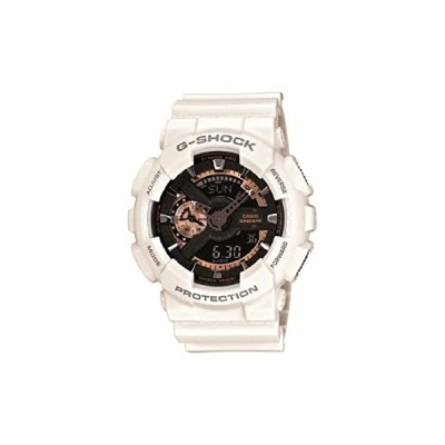 カシオ 腕時計 ジーショック Rose Gold Series ローズゴールドシリーズ GA-110RG-7AJF ホワイト