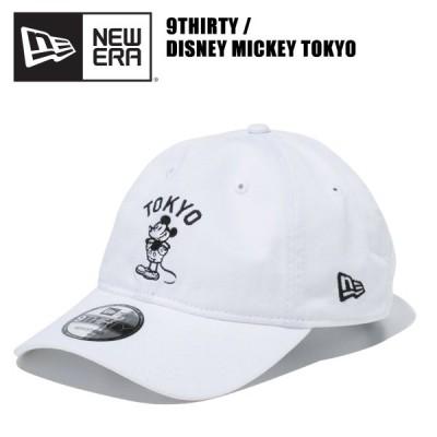 ニュー エラ NEW ERA   9THIRTY クロスストラップ DISNEY MICKEY TOKYO ロゴ White  キャップ  帽子 男性用 ポイント10倍  国内正規品 [BB]