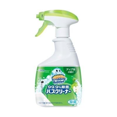 スクラビングバブル 99.9%除菌 バスクリーナー アップルの香り 本体 ( 400ml )/ スクラビングバブル