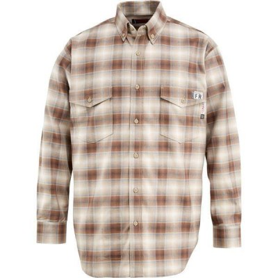 ウルヴァリン メンズ シャツ トップス Wolverine Men's FireZero Flame Resistant 5.8 oz. Plaid Long Sleeve Twill Shirt