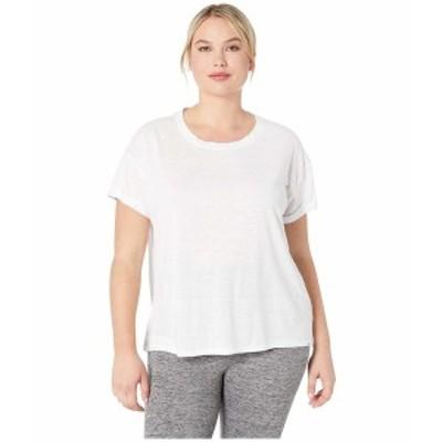 プラーナ レディース シャツ トップス Plus Size Cozy Up T-Shirt White
