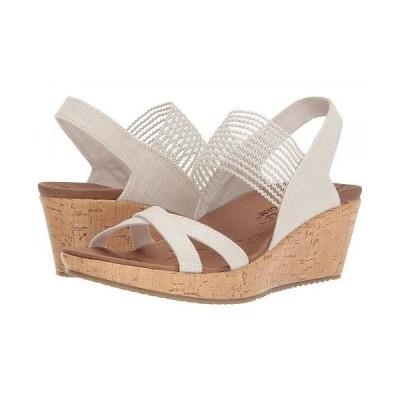 SKECHERS スケッチャーズ レディース 女性用 シューズ 靴 ヒール Beverlee - High Tea - Natural