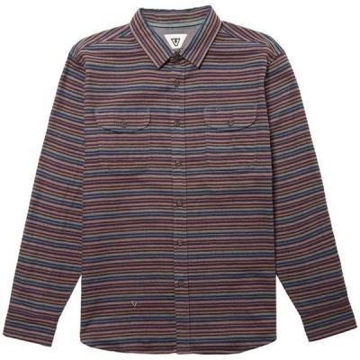 ヴィスラ メンズ シャツ トップス Vissla Central Cost Long-Sleeve Flannel
