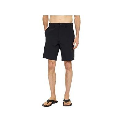 """ボルコム Bohnes 20"""""""" Hybrid Shorts メンズ 半ズボン Black"""