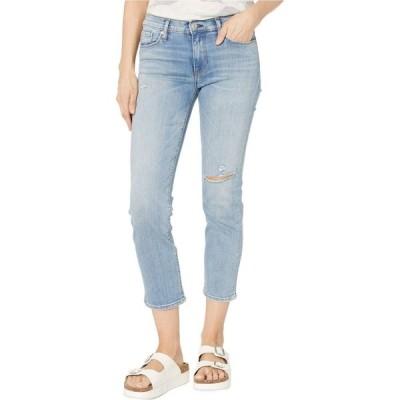 ハドソンジーンズ Hudson Jeans レディース ジーンズ・デニム Nico Straight Mid-Rise Crop Straight with Deconstruction in Recover Recover