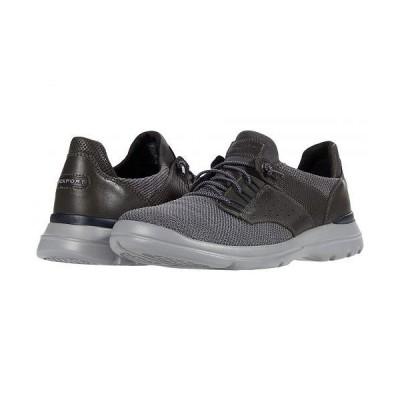 Rockport ロックポート メンズ 男性用 シューズ 靴 スニーカー 運動靴 City Edge Ghillie - Dark Shadow Knit/Leather