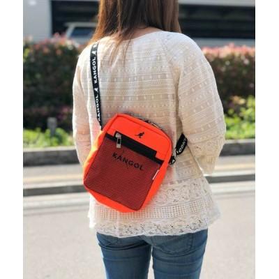 COLLARS / 【KANGOL / カンゴール】 縦型 メッシュポケット ショルダーバッグ WOMEN バッグ > ショルダーバッグ