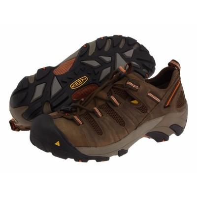 ブーツ キーン メンズ KEEN Utility Atlanta Cool - 1006978 & 1006977 スチール Toe Work ブーツ 1006978 - Shitake/Rust