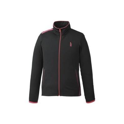 ゴーセン テニス ストレッチジャージジャケット ブラック W1700 39 S