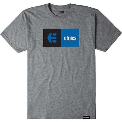 エトニーズ メンズ Tシャツ トップス Etnies Men's Eblock Tee