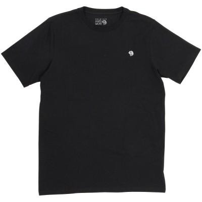 MOUNTAIN HARDWEARマウンテンハードウェア MHW バックロゴショートスリーブT OM9738-010 トレッキング アウトドア 半袖Tシャツ メンズ BLACK