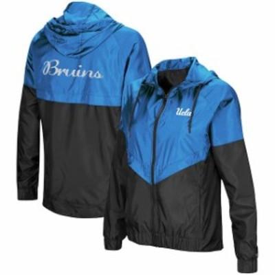 Colosseum コロセウム スポーツ用品  Colosseum UCLA Bruins Womens Blue First Class Full-Zip Windbreaker Jacket