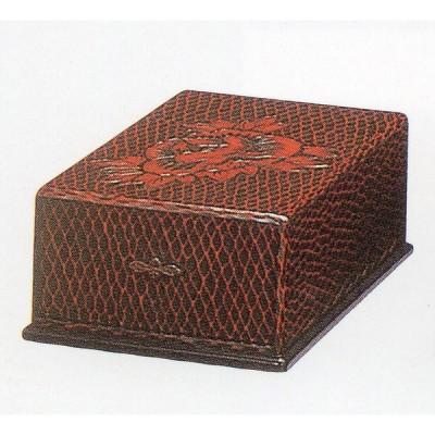硯箱 半紙入れ 鎌倉彫 2E-45  B4収納 送料無料