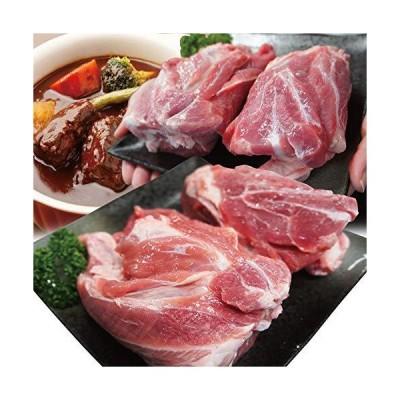 国産豚すね肉1kg冷凍骨なし煮込み用 アイスバイン用