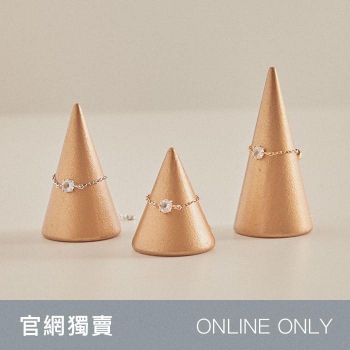 【官網獨賣】 純銀 Celebrate.鍊戒