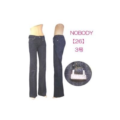 ブーツカットジーンズw261182【26】3号 小さいサイズ・レディース