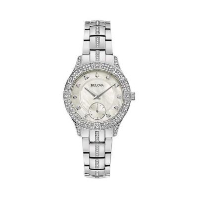 ブロバ レディース 腕時計 アクセサリー Crystal Watch 30.5mm