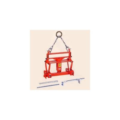 サンキョウトレーディング U字溝吊りクランプ  内吊 ワイド-7  [個人宅配送不可] 【在庫有り】 [FA]