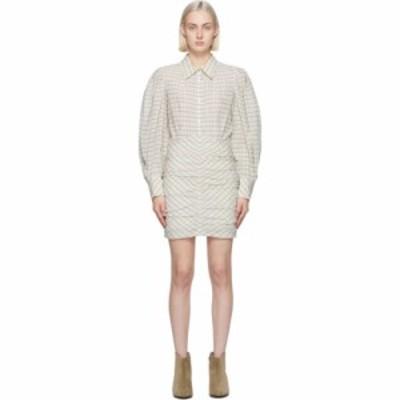 イザベル マラン Isabel Marant レディース ワンピース ワンピース・ドレス Off-White Filanua Puff Sleeve Dress Off white