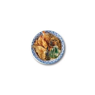 フード缶バッジ CBFO018XL 天丼 76mm