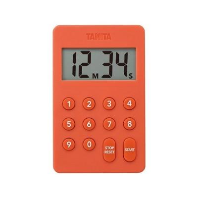 TANITA タニタ デジタルタイマー100分計 TD-415 オレンジ BTIC503