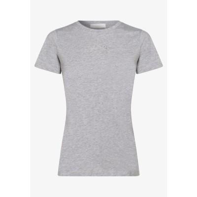 ボス Tシャツ レディース トップス Print T-shirt - grau