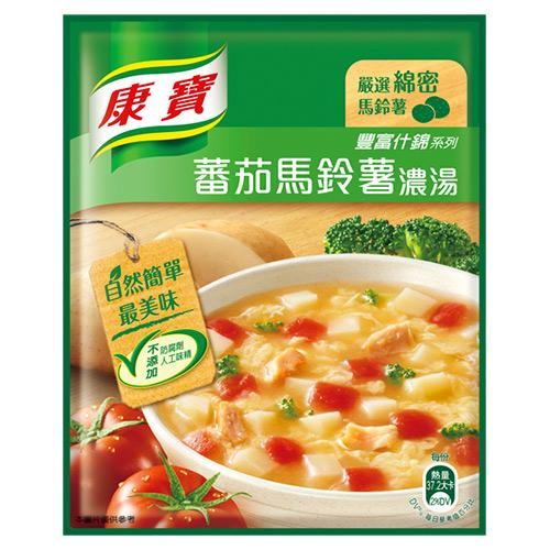 康寶濃湯-自然原味蕃茄馬鈴薯41.4G