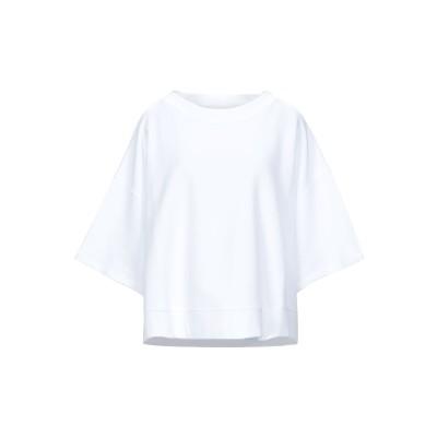 メゾン マルジェラ MAISON MARGIELA スウェットシャツ ホワイト XS コットン 100% / ポリウレタン スウェットシャツ