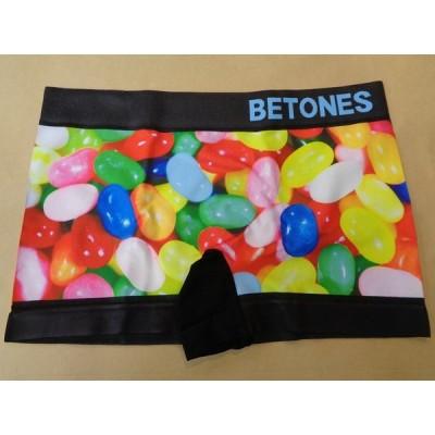 メール便のみ送料無料!! BETONES ビトーンズ ボクサーパンツ MACRO 01PINK MC001-01
