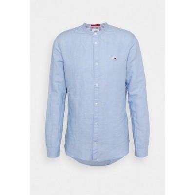 トミーヒルフィガー シャツ メンズ トップス MAO BLEND - Shirt - blue
