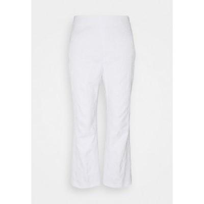 ヴィヴェッタ レディース カジュアルパンツ ボトムス PANT - Trousers - bianco ottico bianco ottico